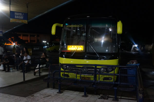 Ceres Bus in North Bus Terminal