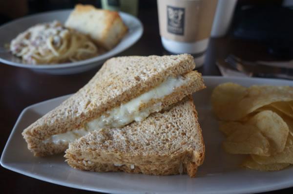 Three Cheese Sandwich