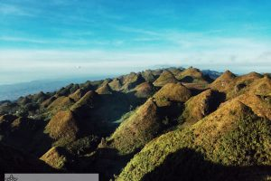 The stunning view at Lugsangan Peak or Casino Peak
