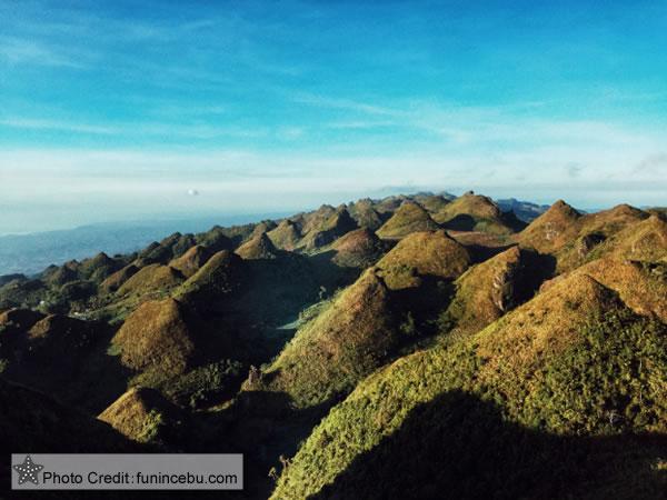The stunning view at Lugsangan Peak or Casino Peak
